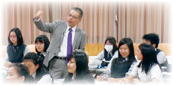 内田先生の授業風景