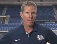Basketball Practice with Mark Few